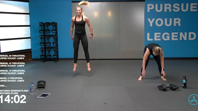 45- Minute Cardio with Coach Christy (011421)