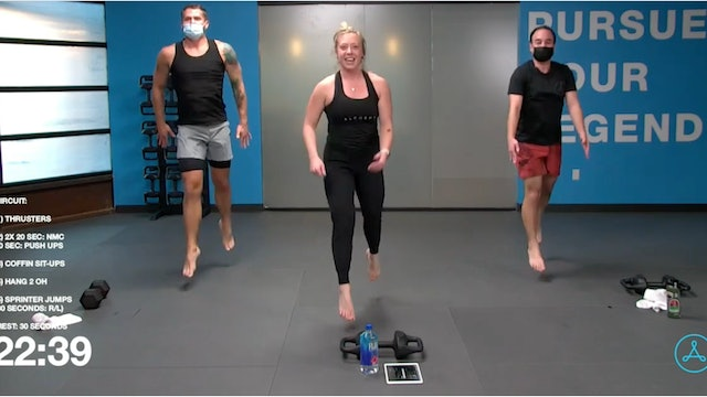 60-Minute Circuit with Coach Hali (010521)