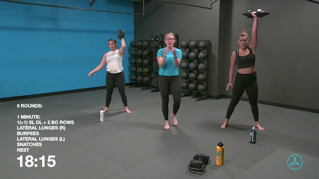 45-Minute Circuit with Coach Alex (100120)