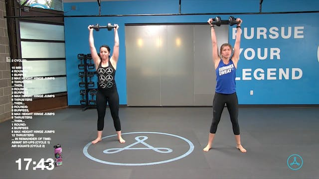 45-Minute Cardio with Coach Madalyn (...