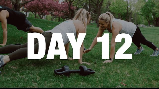 Day 12: 14-Day Jump Start Challenge (A20)