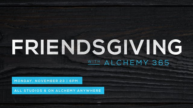 Live Friendsgiving AFlow