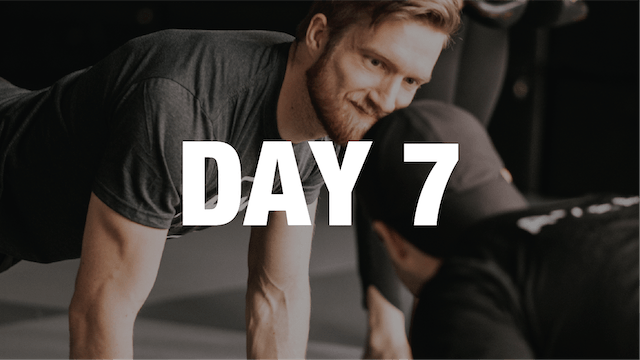 Strong At Home: Day 7