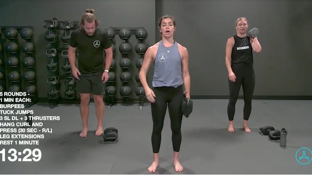 45-Minute Circuit with Coach Molly (0...