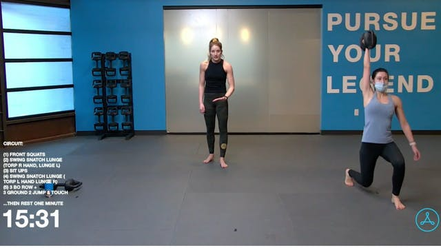 60- Minute Circuit with Coach Sarah (...