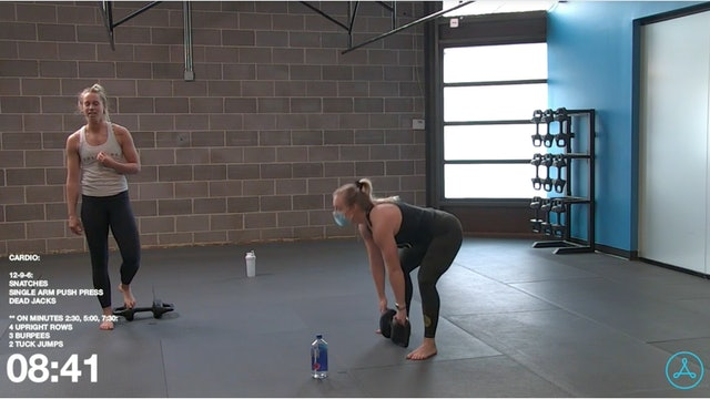 30- Minute Cardio with Coach Christy (010421)