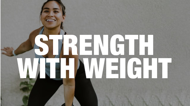 45-Minute Strength Class with Weight