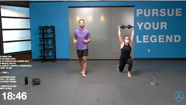 45- Minute Strength with Coach Tyler (011321)