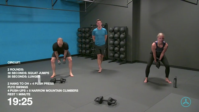 45-Minute Circuit with Coach Brock (092220)