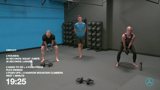 60-Minute Circuit with Coach Brock (0...