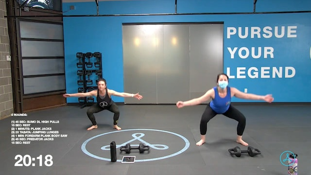 60-Minute Circuit with Coach Devyn (042121)