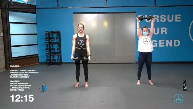 45-Minute Strength with Coach Sarah (010821)