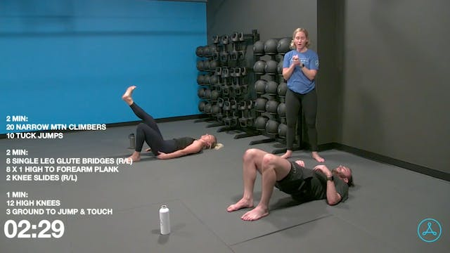 30-Minute Bodyweight Core and Cardio ...