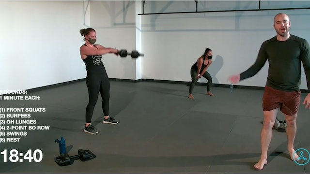 45-Minute Circuit with Coach Ben  (112320)