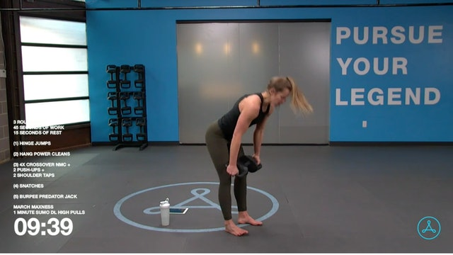 40-Minute Circuit with Christy (030521)