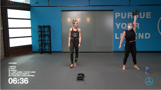 30-Minute Circuit with Coach Sarah (122120)