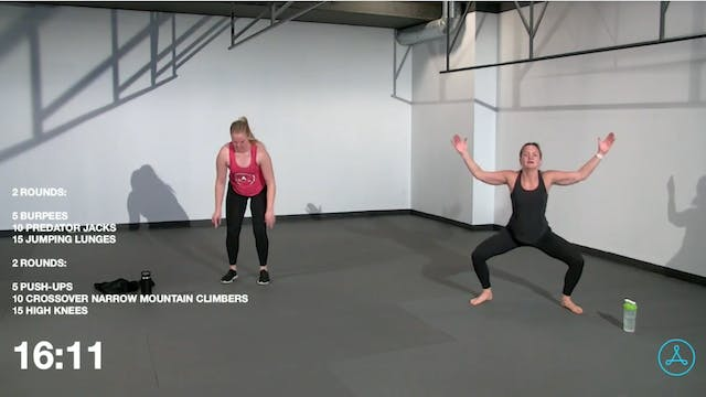 45-Minute Cardio with Coach Leah  (11...