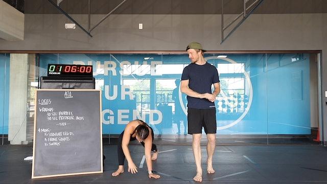 45-Minute Cardio with Coach Matt (061820)