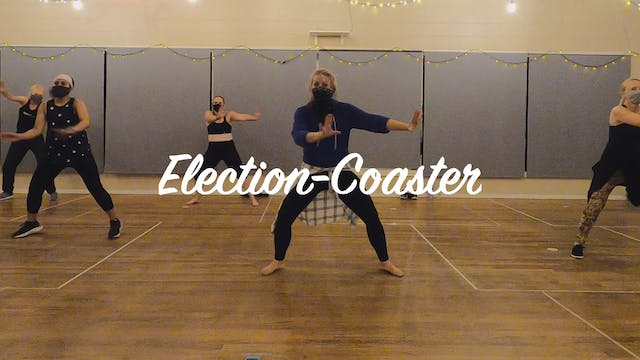 World Dance Fitness with Ashley: Election-coaster