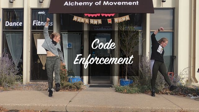 World Dance Fitness with Bethany and Ashley - Code Enforcement