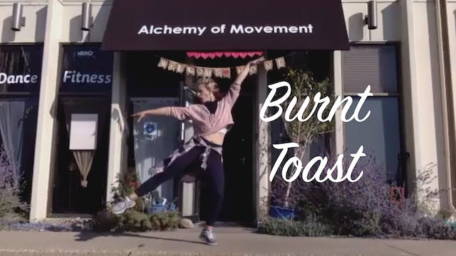 Wold Dance Fitness with Ashley - Burnt Toast