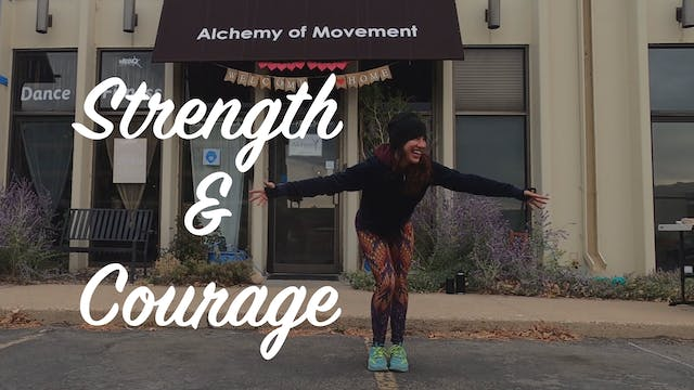 Soul Sweat with Jill - Strength and Courage
