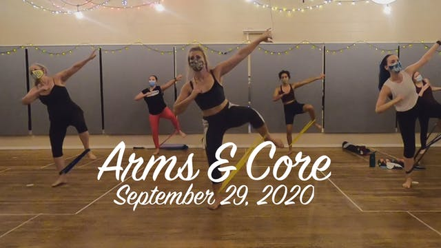 BOLD Toning with Ashley - Arms & Core September 29 2020