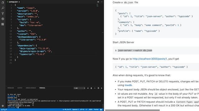 ArcGIS JavaScript API (3 x) - NodeGeo
