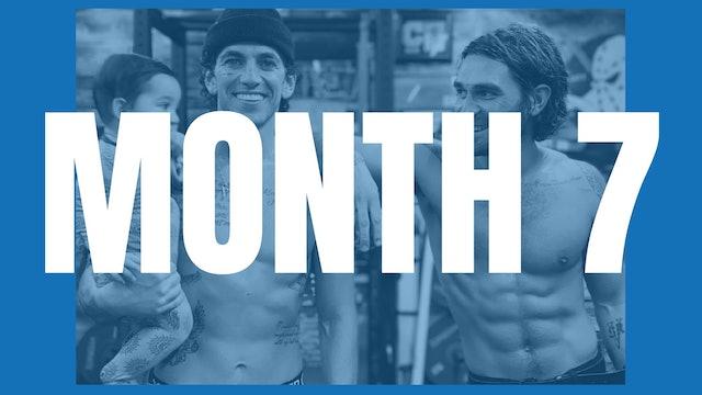 KJ Apa's Full Year Shred - Month 7