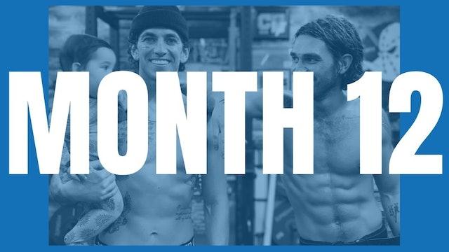 KJ Apa's Full Year Shred - Month 12