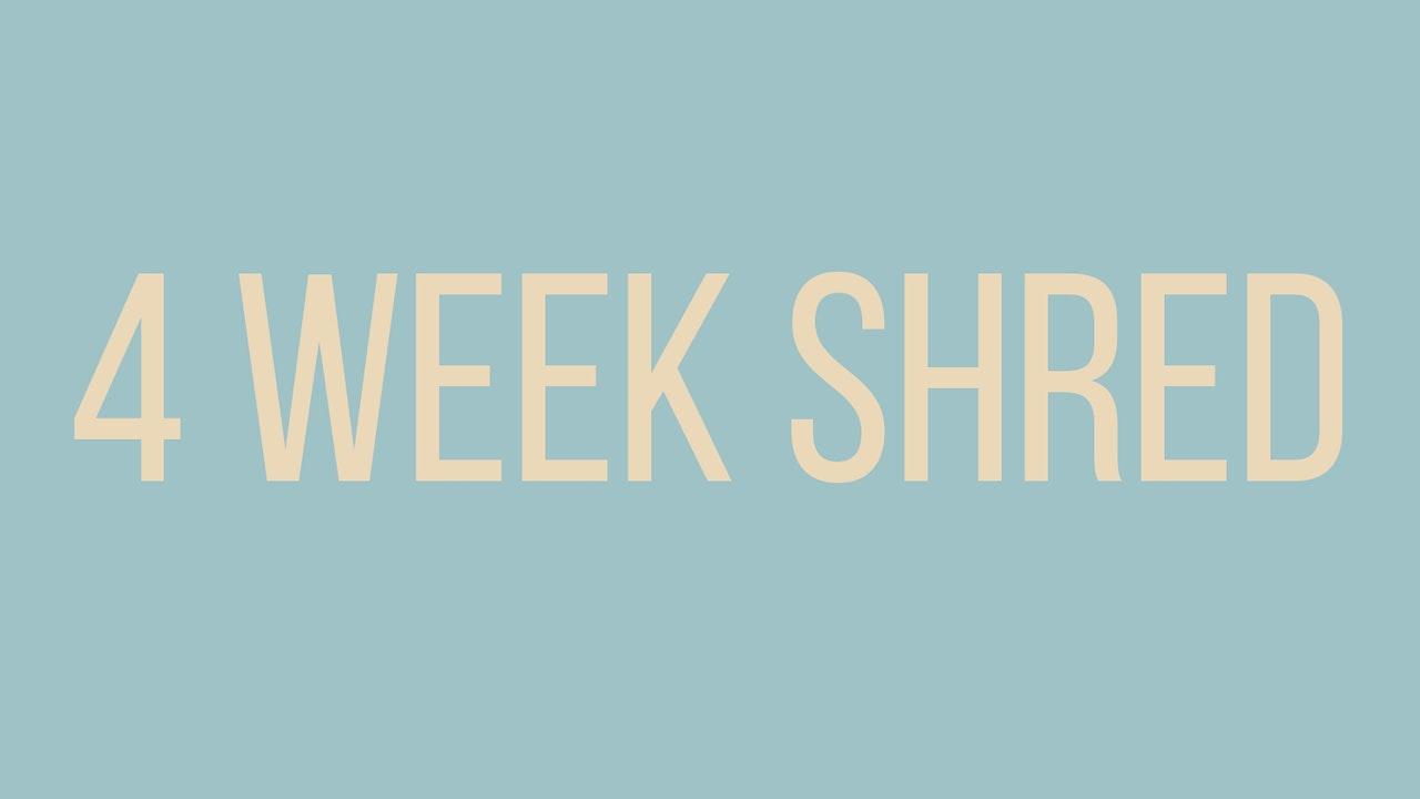 Alex Fine's 4 Week Shred