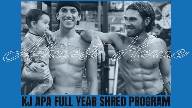 KJ Apa Full Year Shred
