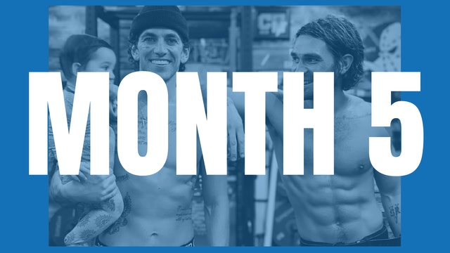 KJ Apa's Full Year Shred - Month 5
