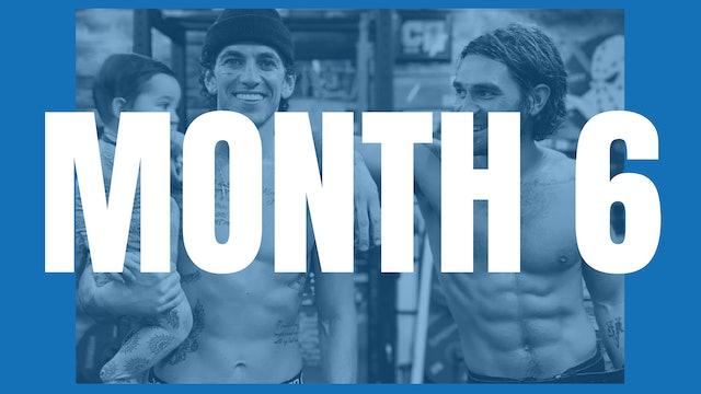 KJ Apa's Full Year Shred - Month 6
