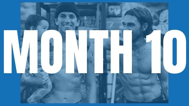 KJ Apa's Full Year Shred - Month 10