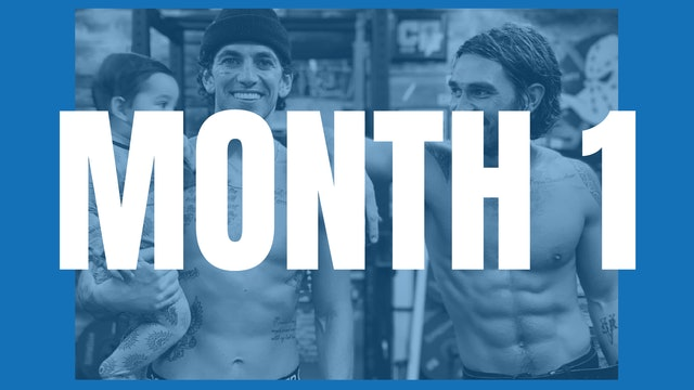 KJ Apa's Full Year Shred - Month 1