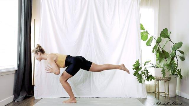 Half Workout & Half Stretching