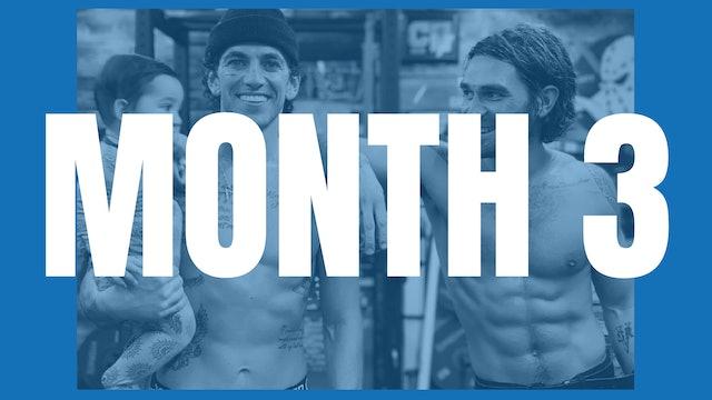KJ Apa's Full Year Shred - Month 3
