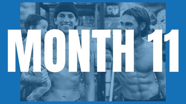 KJ Apa's Full Year Shred - Month 11