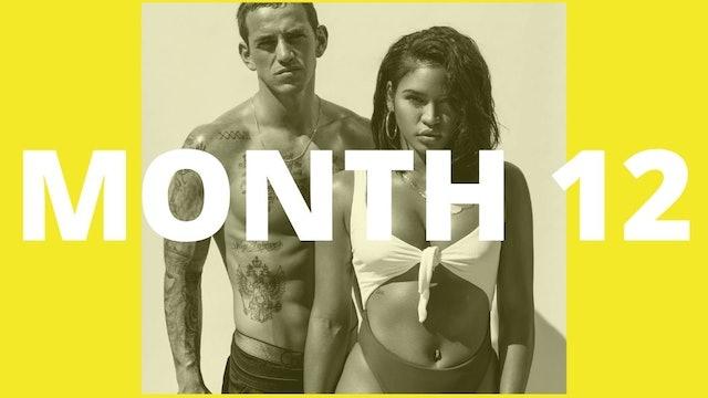 Cassie's Tighten & Tone Program - Month 12