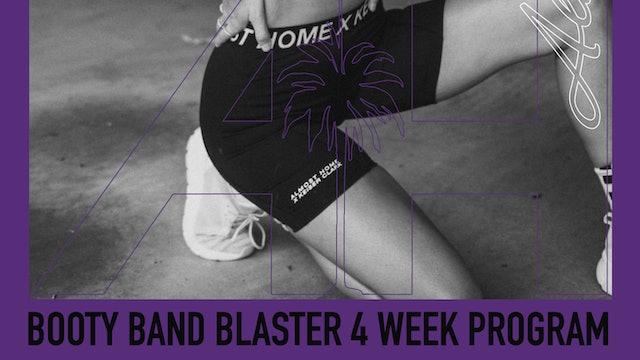 Bootie Band Blaster - 4 Week Program