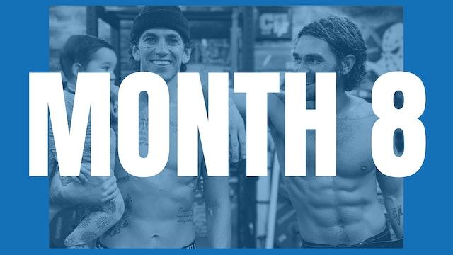 KJ Apa's Full Year Shred - Month 8