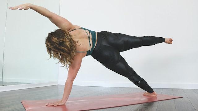 Plank Challenge with Kristen