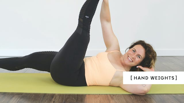 Pilates Core & Up 01 with Kristen