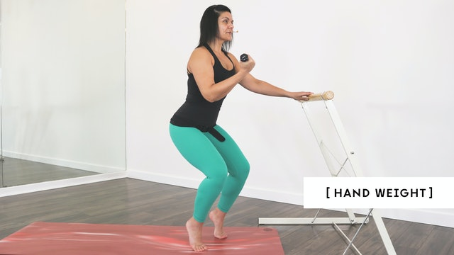 Barre Quickie 03 with Ashley