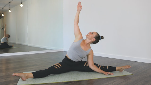 Yoga Straddle Flow 01 with Kristen
