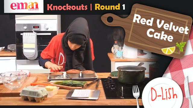 Knockouts | Round 1 | Red Velvet Cake