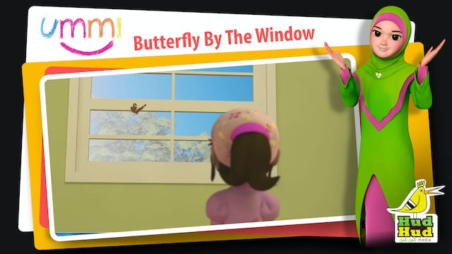 Butterfly By The Window