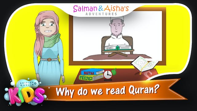 Why do we read Quran?