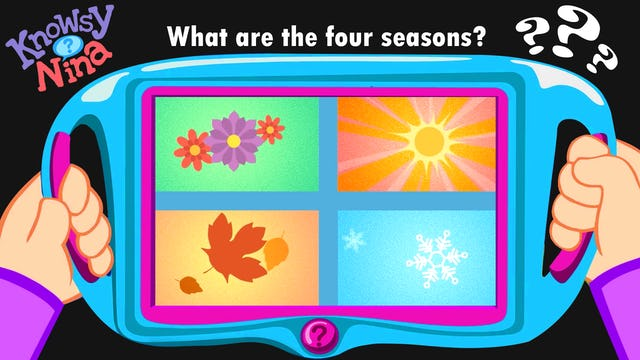 What are the four seasons?
